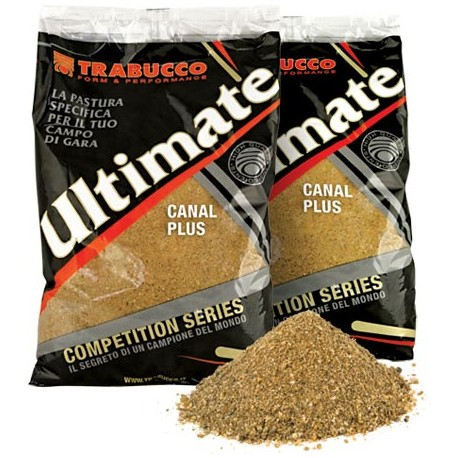 TRABUCCO ULTIMATE CANAL PLUS GROUNDBAIT 1KG SUPER MIX CARPA