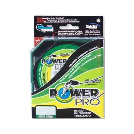 MULTIFILAMENTO TRENZADO POWER PRO 135mt VERDE