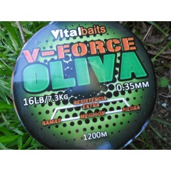 HILO VITAL BAITS V-FORCE OLIVA 1200mt