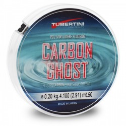 FLUOROCARBONO TUBERTINI CARBON GHOST 50mt