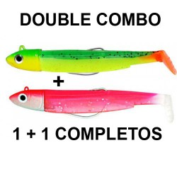 BLACK MINNOW Nº2 90 DOUBLE COMBO OFF SHORE 10GR