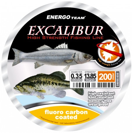 HILO EXCALIBUR SEA FLUORO CARBON 200 METROS