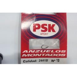 CARTERA 10 ANZUELOS MONTADOS PSK SPORT