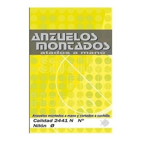 CARTERA 10 ANZUELOS MONTADOS KALI PICO DE LORO
