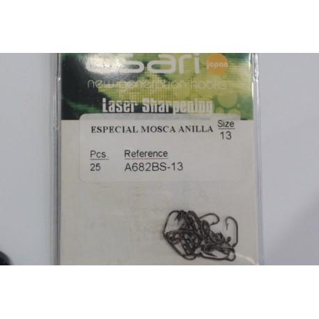 ANZUELO ASARI ESPECIAL MOSCA A682BS
