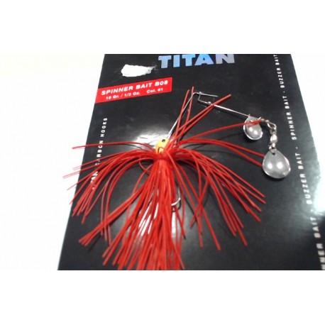 SPINNER BAIT B08 10GR TITAN GRAUVELL