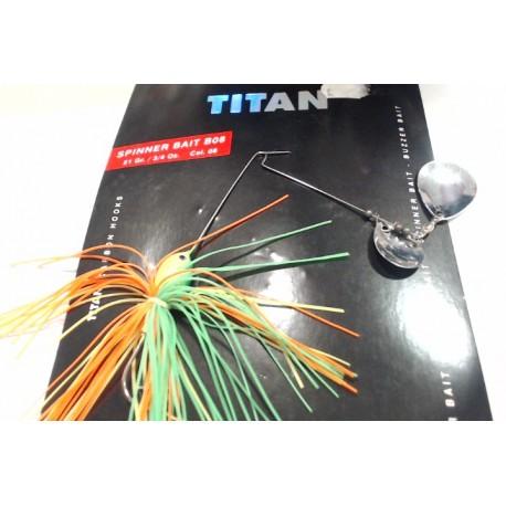 SPINNER BAIT B08 21GR TITAN GRAUVELL
