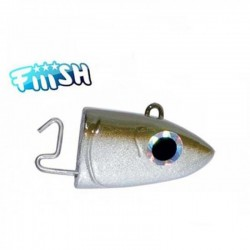 CABEZA OFFSHORE Nº2 10GR. (90) KAKI FIISH BLACK MINNOW